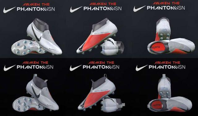 دانلود کفش Nike Phanto برای PES 2017 و PES 2018