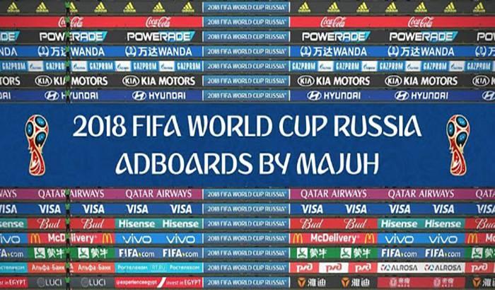 پک ادبورد جام جهانی 2018 برای PES 2018 ( ورژن 1.2 )