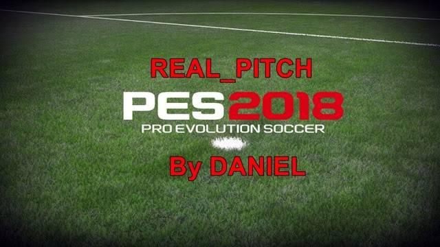 مود چمن واقعی Real Pitch V2 برای PES 2018 توسط Daniel