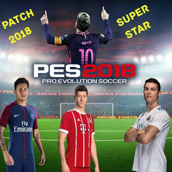 دانلود پچ Super Star Patch 1.2 برای PES 2018 (ادیشن جام جهانی)