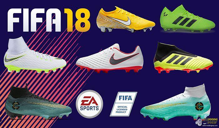 دانلود پک کفش 2018/2019 برای FIFA 18