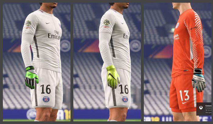 دانلود پک دستکش Gloves Pack 2.0 برای FIFA 18