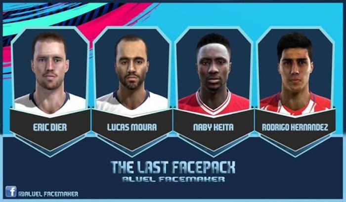 دانلود فیس پک The Last Facepack 2018 برای PES 2013