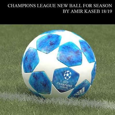 دانلود توپ لیگ قهرمانان اروپا 2018/2019 برای PES 2017