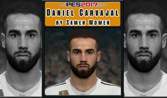 دانلود فیس Carvajal فصل 18/19 برای PES 2017
