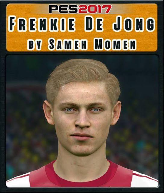 دانلود فیس Frenkie de Jong برای PES 2017 توسط Sameh Momen