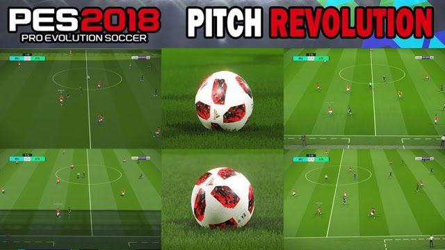 دانلود مود چمن Pitch Revolution برای PES 2018