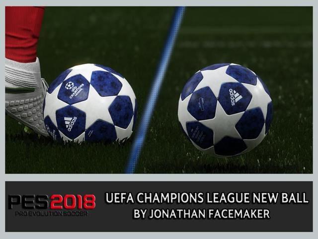 توپ لیگ قهرمانان اروپا 2018/2019 برای PES 2018