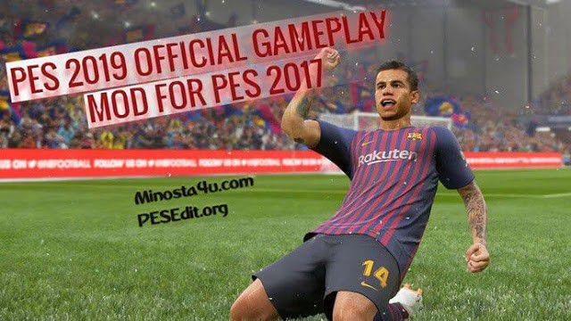 دانلود گیم پلی پچ اختصاصی بازی PES 2019 برای PES 2017 توسط Minosta4u