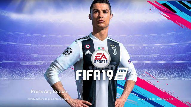 دانلود استارت اسکرین FIFA 19 برای PES 2017