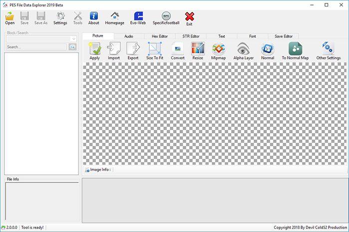 دانلود ابزار File Data Explorer Tool برای PES 2019