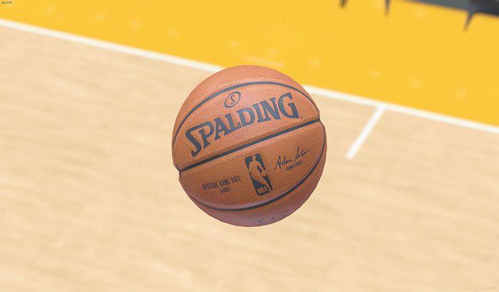 دانلود مدل جدید توپ با خطوط واقعی برای NBA 2K19