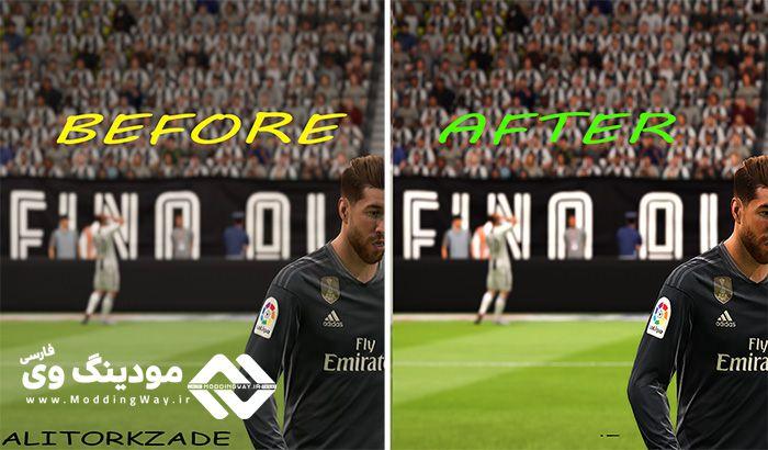 دانلود مود افزایش گرافیک Reshade در FIFA 19 + آموزش نصب