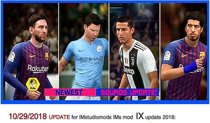دانلود پچ IMS v10 برای FIFA 17 ( آپدیت FIFA19 برای FIFA 17 )