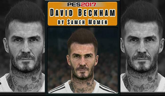 دانلود فیس Beckham برای PES 2017 توسط Sameh Momen