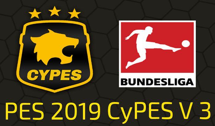 دانلود پچ CYPES 3.0 AIO برای PES 2019 نسخه PS4