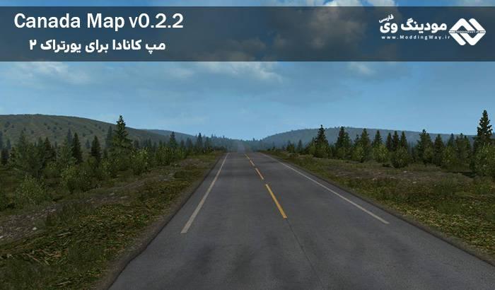 دانلود مپ Canada V0.2.2 برای یوروتراک 2