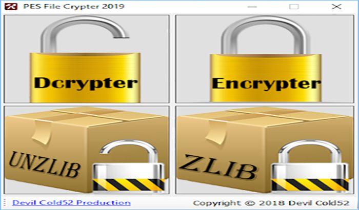 دانلود ابزار Crypter برای PES 2019 توسط Devil Cold52