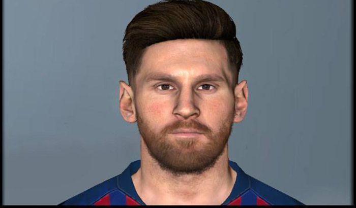 دانلود فیس Lionel Messi برای PES 2017 توسط Solo Gamer