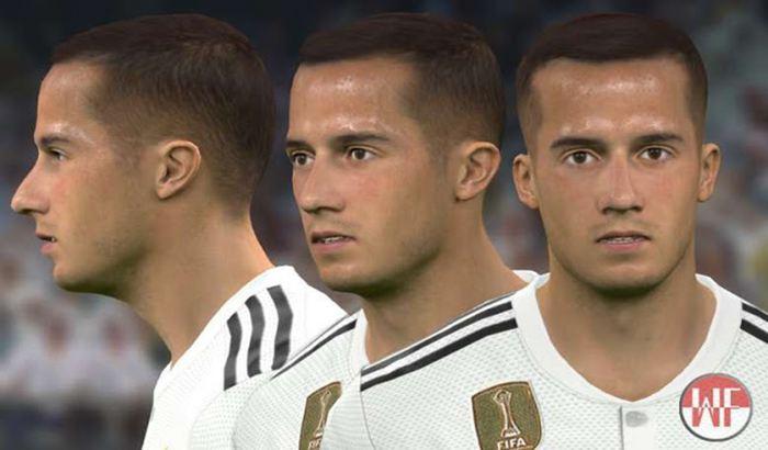 دانلود فیس Lucas Vazquez برای PES 2017 (تبدیل شده از FIFA 19)