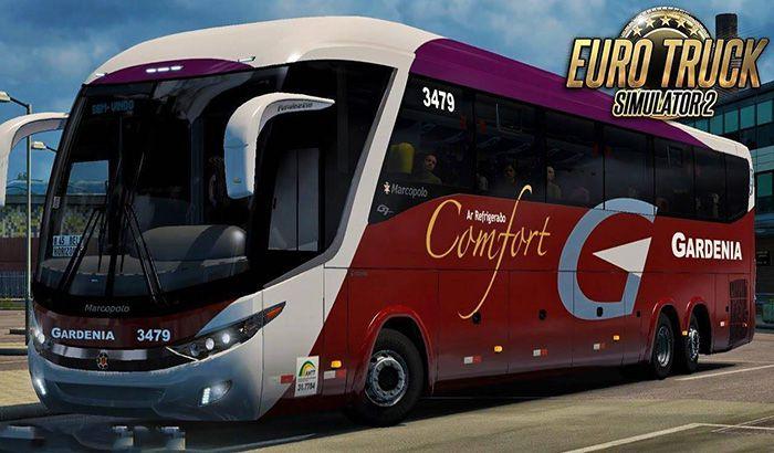 دانلود اتوبوس Marcopolo G7 1200 برای Euro Truck 2