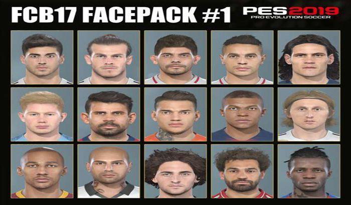 دانلود فیس پک تبدیلی از FIFA 19 برای PES 2019