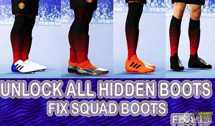 دانلود آپدیت فیکس مشکل کفش بازیکنان در FIFA 19 (مطابق انتقالات جدید)
