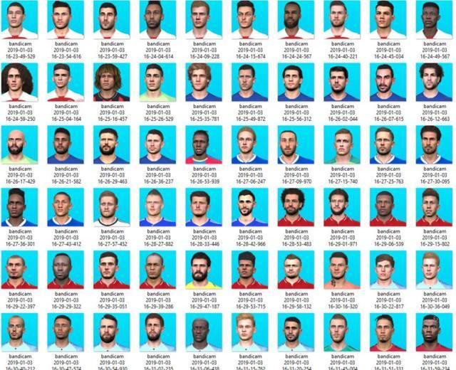 دانلود ریپک فیس 370 بازیکن برای PES 2017 فصل 18/19