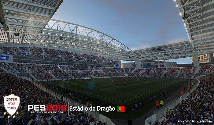 دانلود استادیوم do Dragao برای PES 2019 توسط Arthur Torres