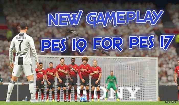 دانلود گیم پلی جدید PES 2019 برای PES 2017 توسط Friends