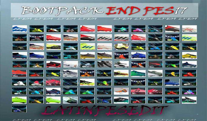 دانلود پک کفش END برای PES 2017 فصل 2019 توسط LPE