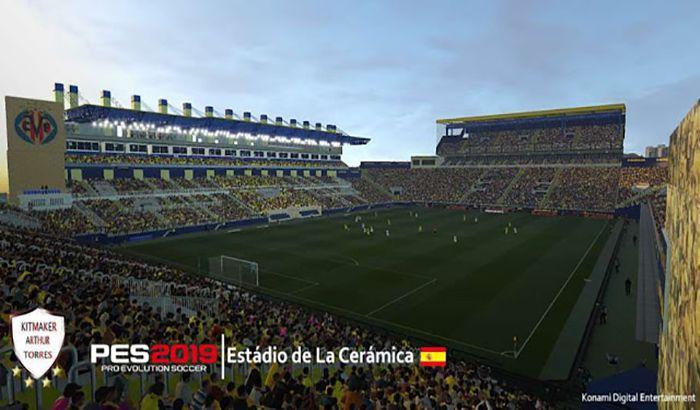 دانلود استادیوم Estadio de la Ceramica برای PES 2019 توسط Arthur Torres