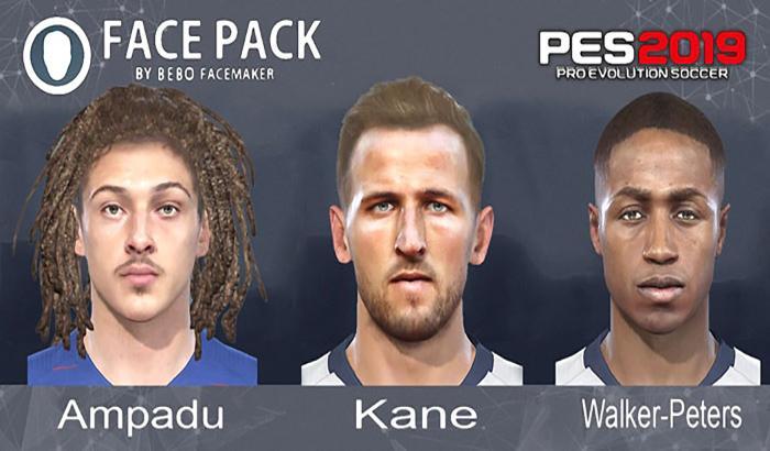 دانلود Mini Facepack #15-02-2019 برای PES 2019 توسط Bebo Facamaker