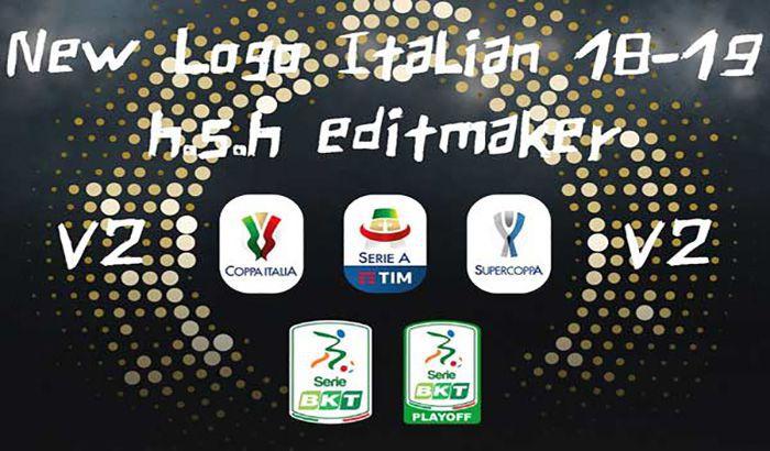 آپدیت لوگوهای لیگ ایتالیا 18-19 برای PES 2017 توسط H.S.H