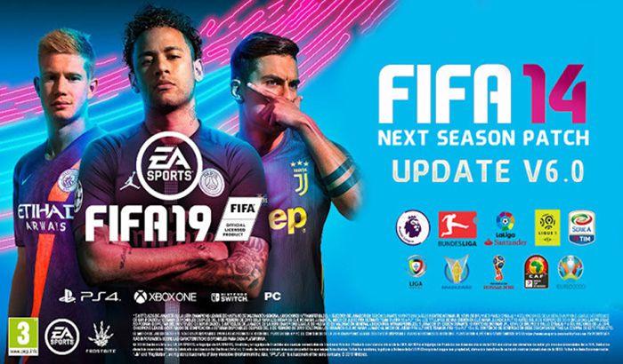دانلود پچ Next Season 2019 V6.0 برای FIFA 14 (فصل 18/19)