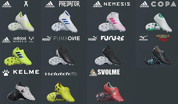 پک کفش V9 برای PES 2019 توسط Hawke