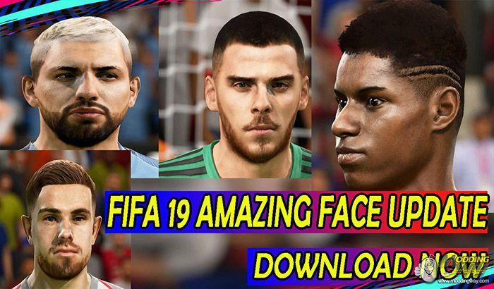 دانلود آپدیت فیس برای FIFA 19 ورژن 1 توسط IYASZAEN