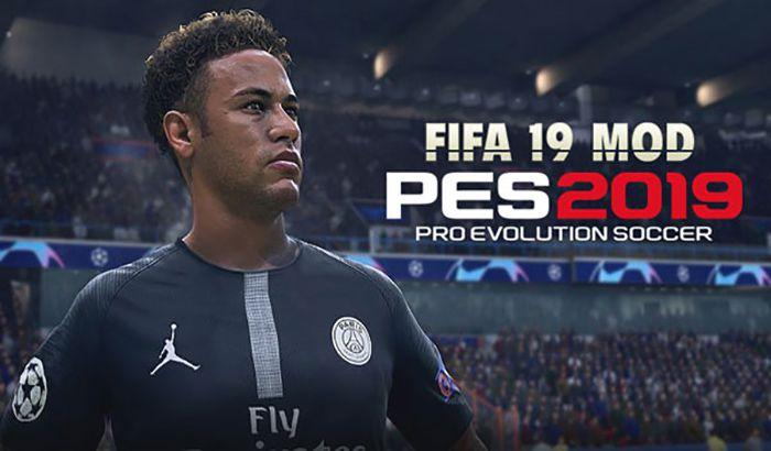 دانلود مود گرافیک FIFA 19 برای PES 2019 توسط Micano4u