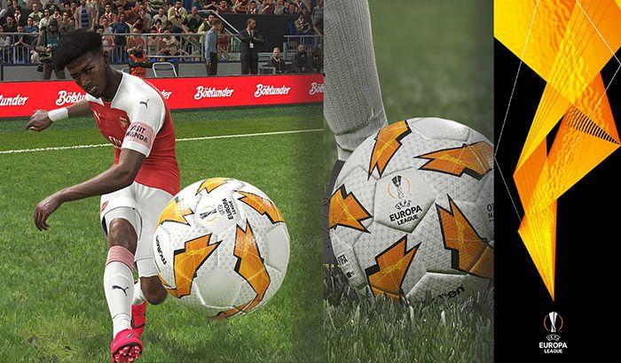 دانلود توپ لیگ اروپا 2018/2019 برای PES 2019 توسط JoseM_Miuccio