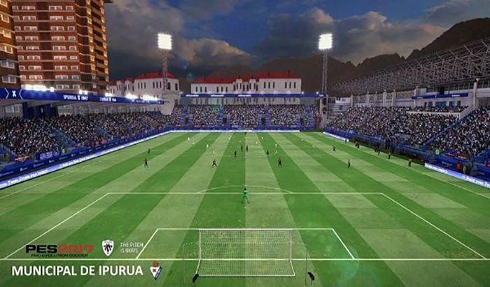 دانلود استادیوم Municipal de Ipurua برای PES 2017 ( تیم ایبار )