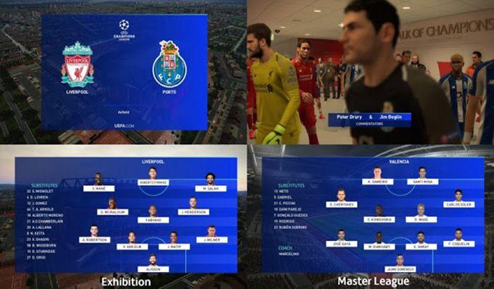 دانلود اسکوربورد لیگ قهرمانان اروپا برای PES 2019 (نسخه جدید)