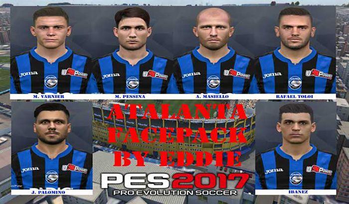 فیس پک آتالانتا Atalanta ایتالیا برای PES 2017 فصل 2019