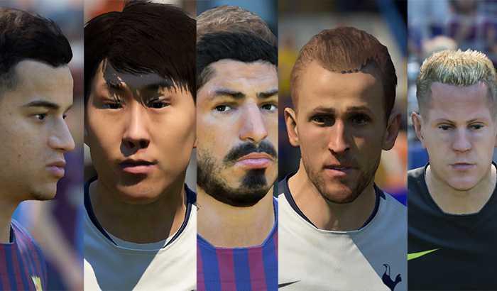 دانلود فیس و تتو V2 برای FIFA 19 توسط Beta 10