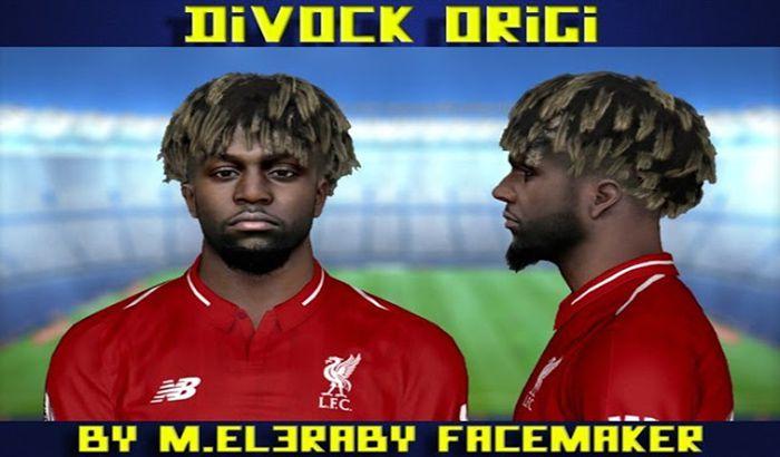 دانلود فیس Divock Origi برای PES 2017 فصل 2019