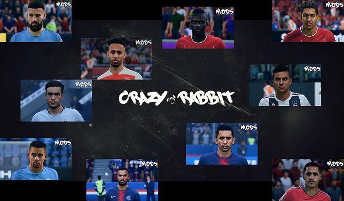 دانلود فیس پک V1.3 برای FIFA 19 توسط CrazyRabbit