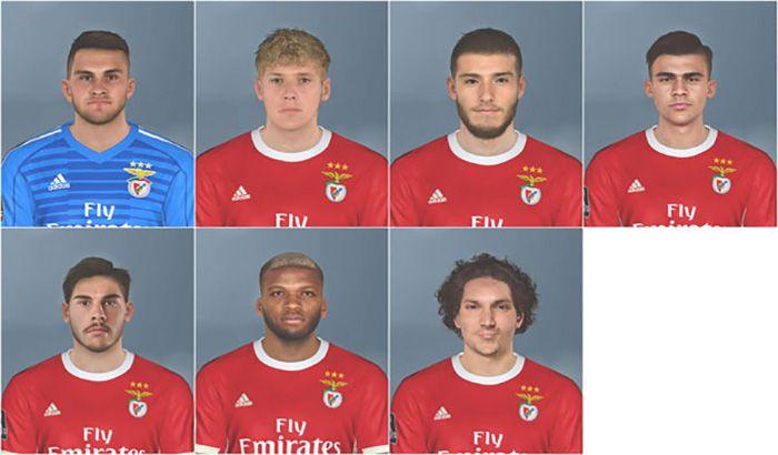 دانلود فیس پک Benfica برای PES 2017 فصل 2019