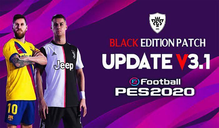 دانلود پچ Black Edition Patch 2019/2020 برای PES 2017 + آپدیت 3.1