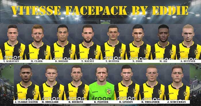 دانلود فیس پک Vitesse 2019 برای PES 2017 توسط Eddie