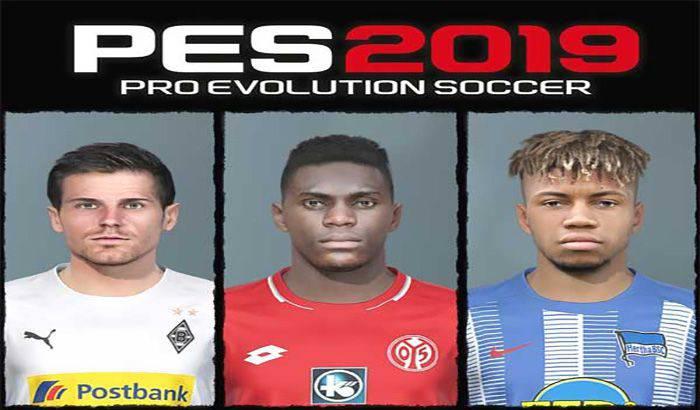 دانلود فیس پک Bundesliga Vol 22 برای PES 2019 توسط Shaft