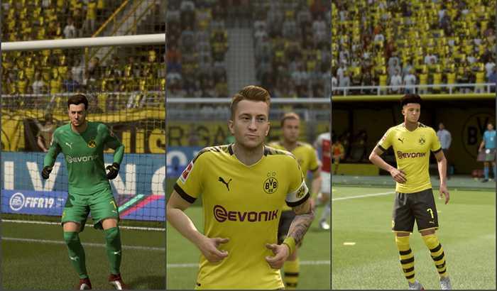 دانلود کیت پک V4 فصل 2019/20 برای FIFA 19 توسط Riesscars